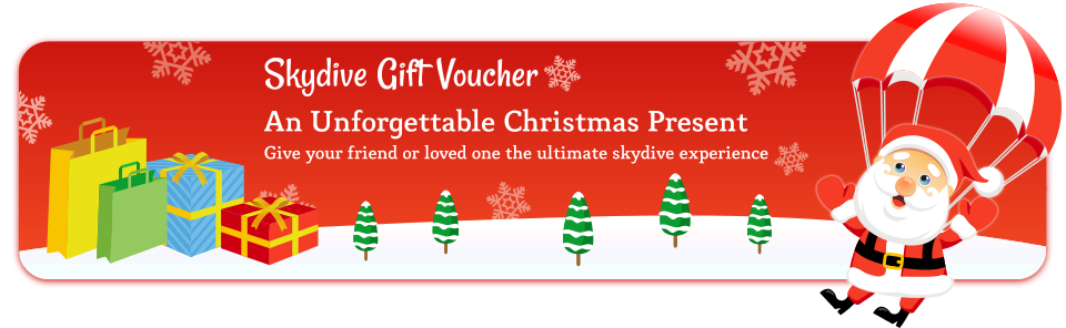 Skydive Gift Voucher - An Unforgettable Christmas Present