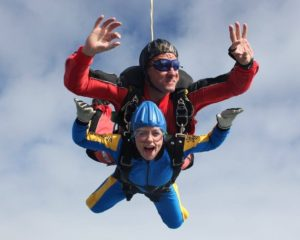 BBC One - Secret Britain - Ellie Harrison Skydive